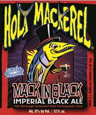 Holy Mackerel Mack In Black